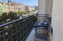 EA Hotel Apartments Wenceslas square - balkon